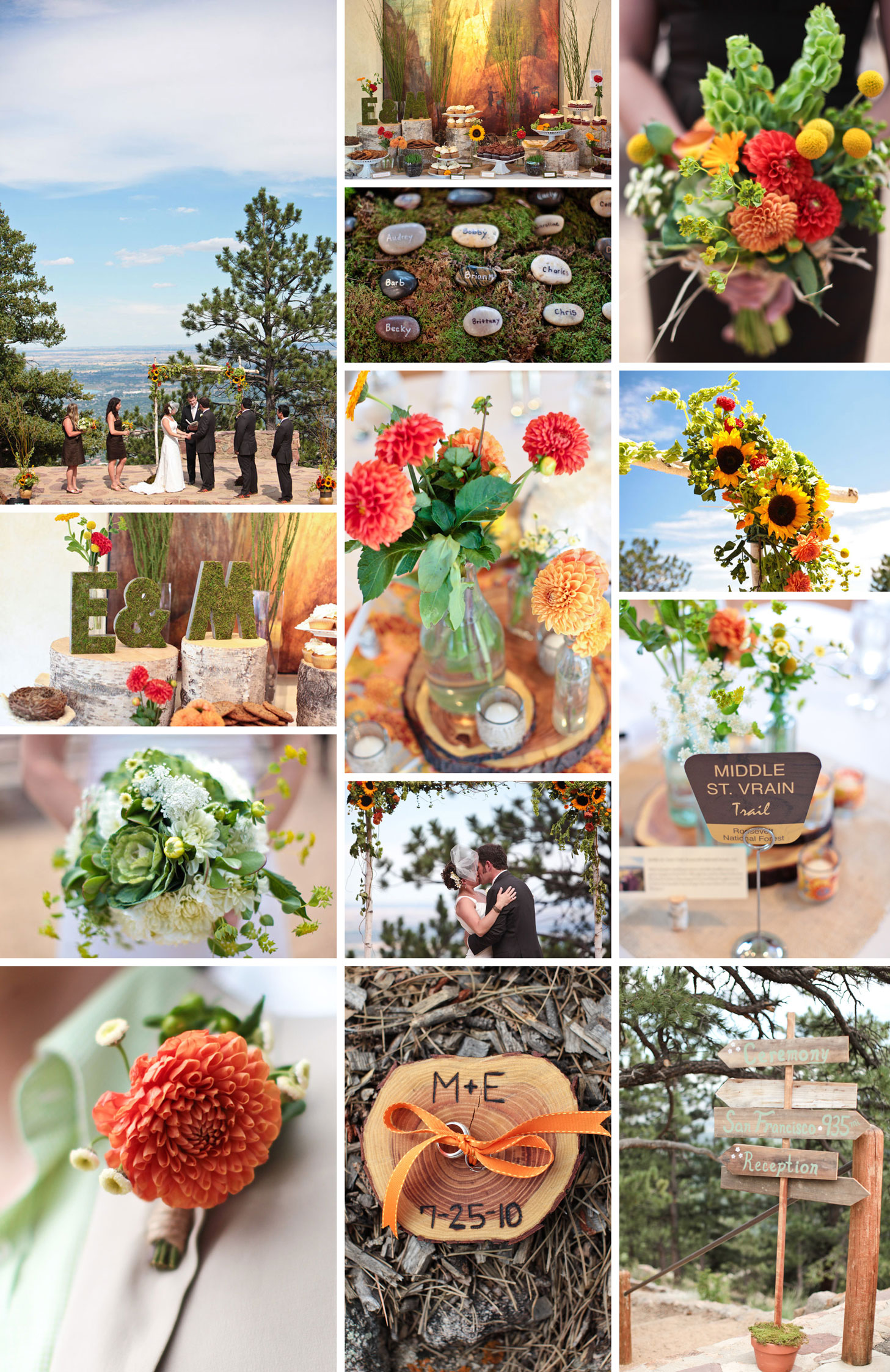 Fall Wedding in Boulder
